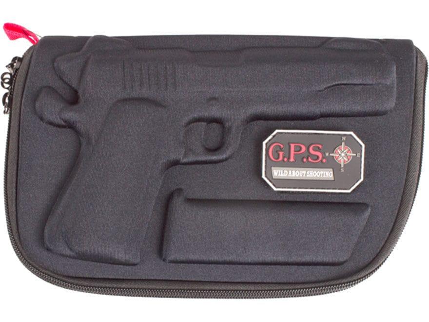 G.P.S. Custom Molded Pistol Case 1911 Black