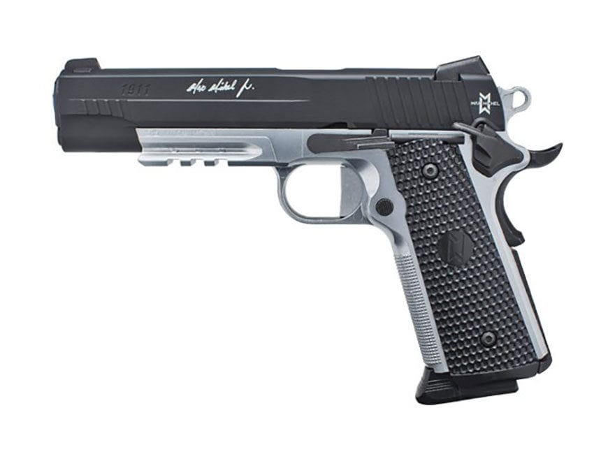 Sig Sauer 1911 Max Michel Air Pistol 177 Caliber BB Flat Dark Black