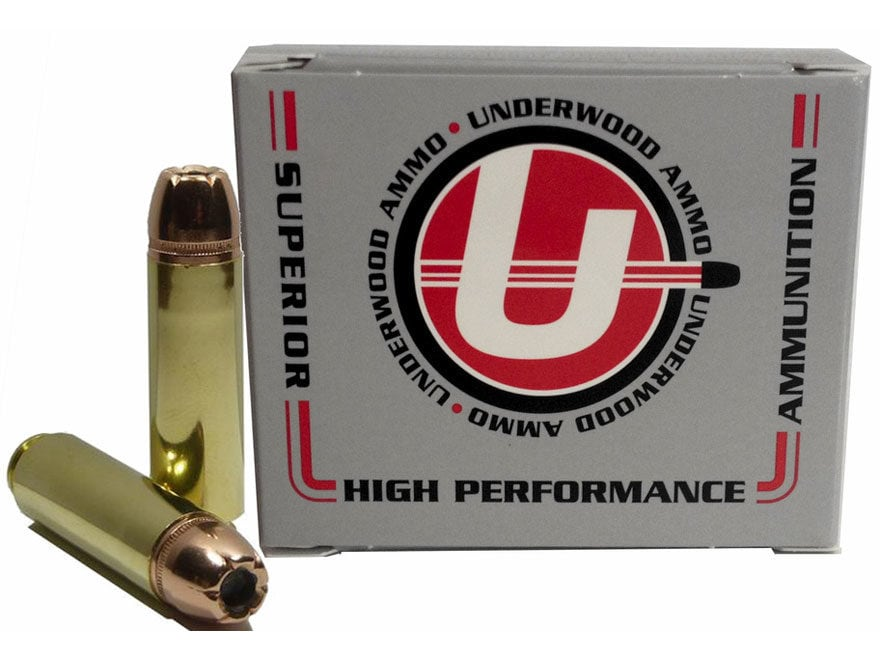 Underwood Ammunition 50 Beowulf 350 Grain Hornady XTP Jacketed Hollow Point Box of 20