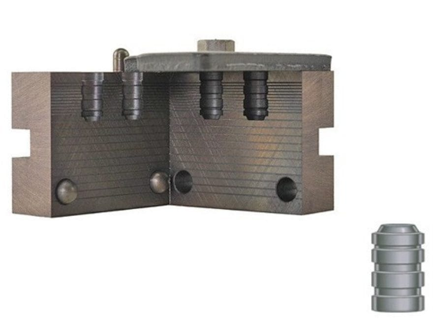 RCBS 2-Cavity Bullet Mold 32-098-WC 32 Caliber (314 Diameter) 98 Grain Wadcutter