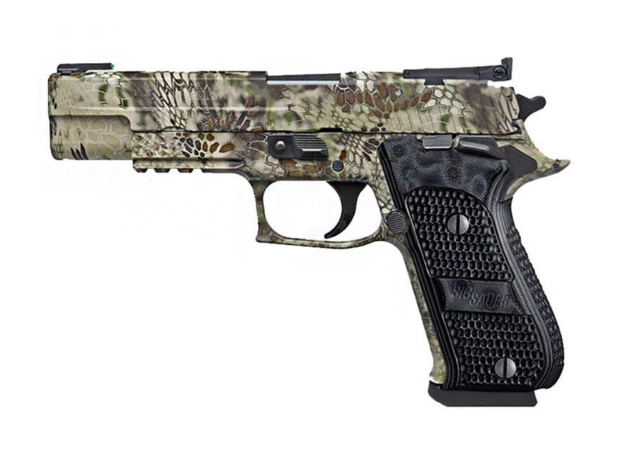 "Sig Sauer P220 Hunter Pistol 10mm Auto 5"" Barrel TRUGLO Night Sights 8-Round Kryptek Hi..."