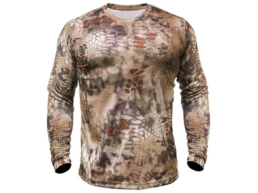 Kryptek Men's Hyperion T-Shirt Long Sleeve Polyester