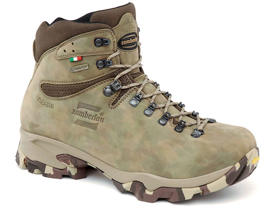 "Zamberlan Leopard Low GTX 6"" Waterproof GORE-TEX Hunting Boots Leather Men's"