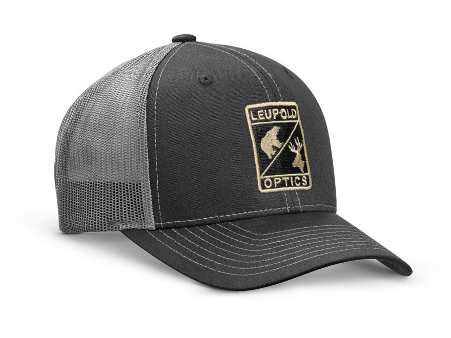 Leupold Optics Trucker Hat Black/Charcoal