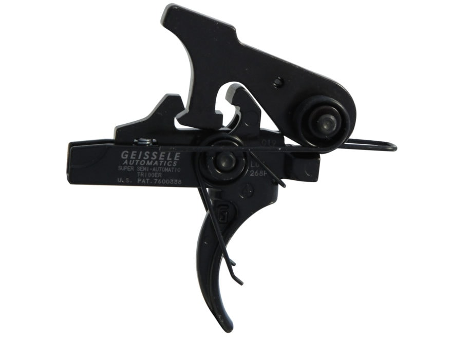 "Geissele SSA Super Semi Automatic Trigger Group AR-15, LR-308 Small Pin .154"" Two Stage..."