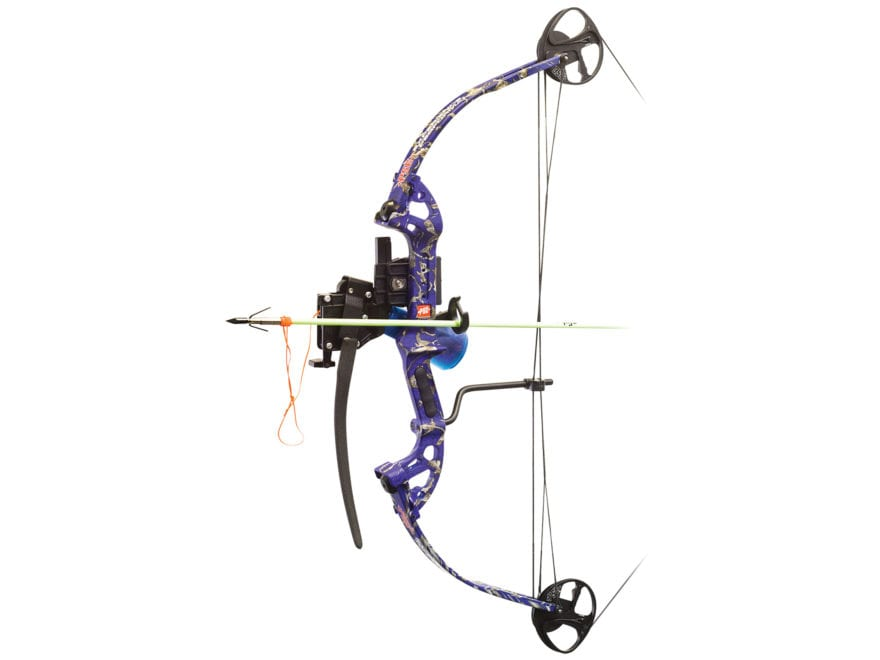 PSE Discovery BF Bowfishing Bow with AMS Retriever Package 40 lb Right Hand Dk'D Camo