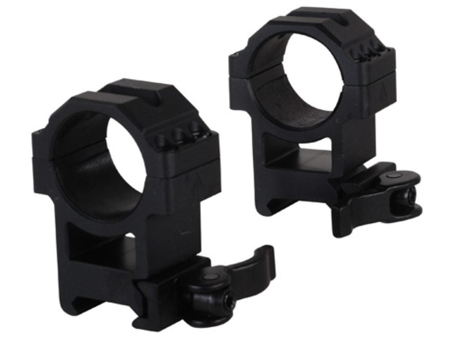 Leapers UTG 30mm Max Strength Tactical 6-Hole Quick Detachable Picatinny-Style Rings Ma...