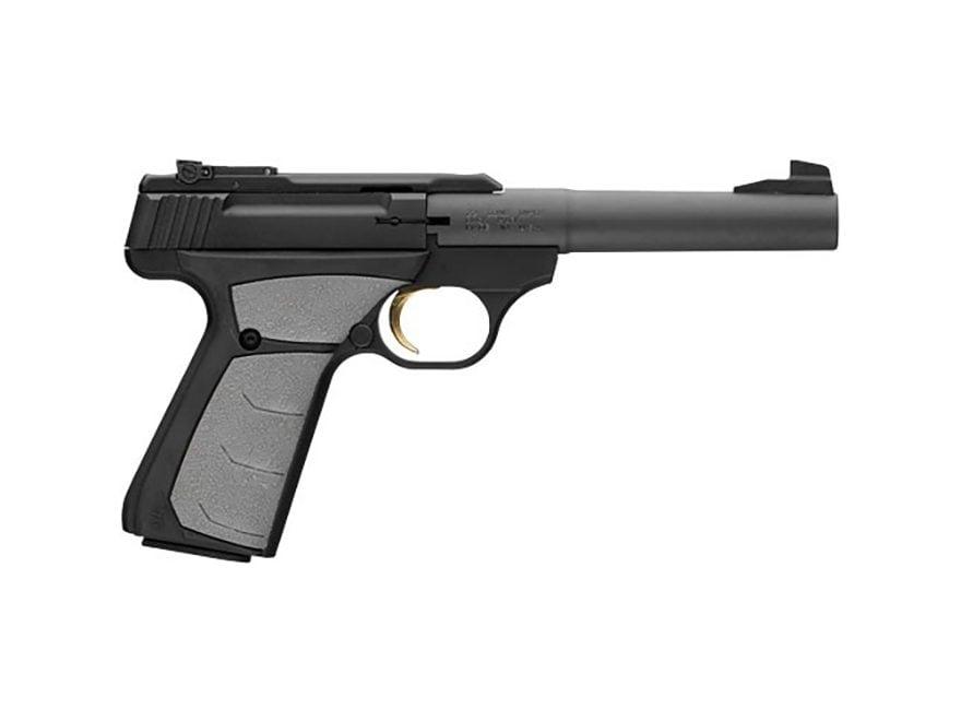 "Browning Buck Mark Camper UFX Black Pistol 22 Long Rifle 5.5"" Barrel 10-Round"