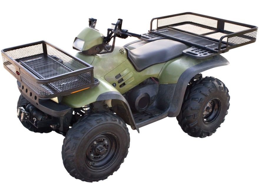 Swisher Universal Front and Rear ATV Basket Kit