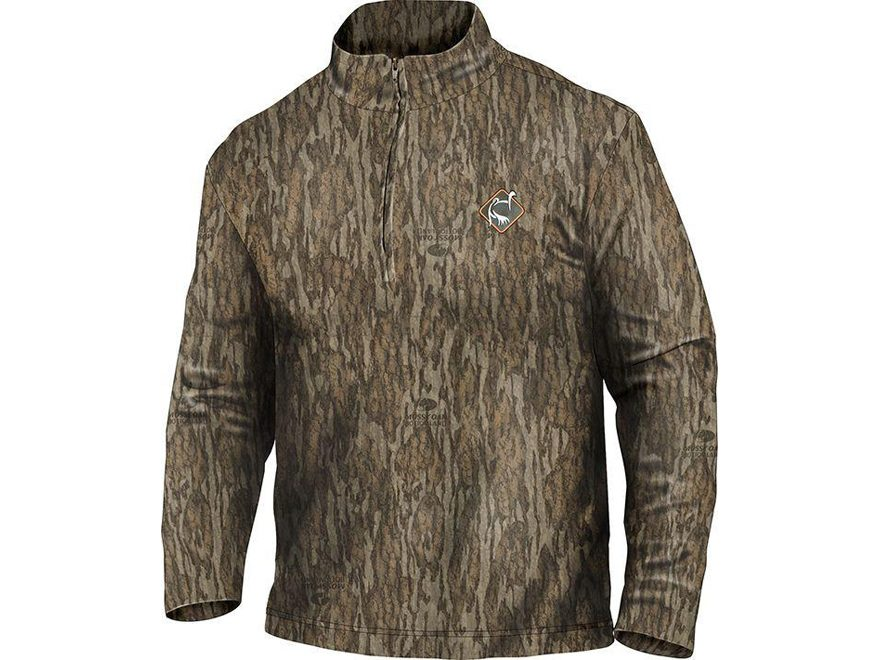 Ol' Tom Men's Performance 1/4 Zip Shirt Long Sleeve Polyester