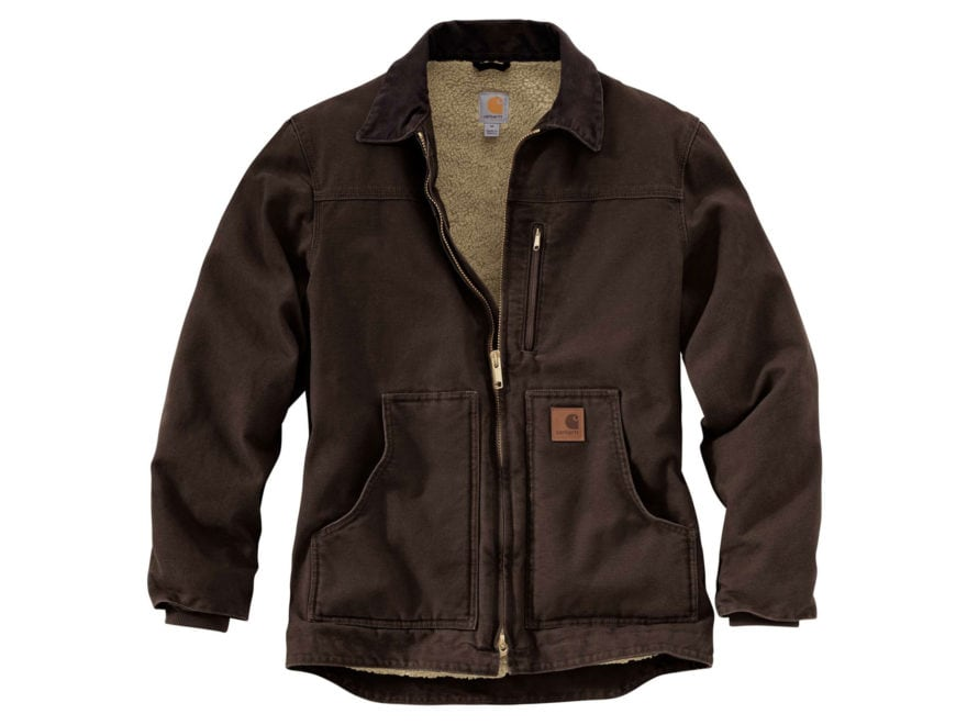 Carhartt Men's Ridge Sherpa-Lined Coat Cotton