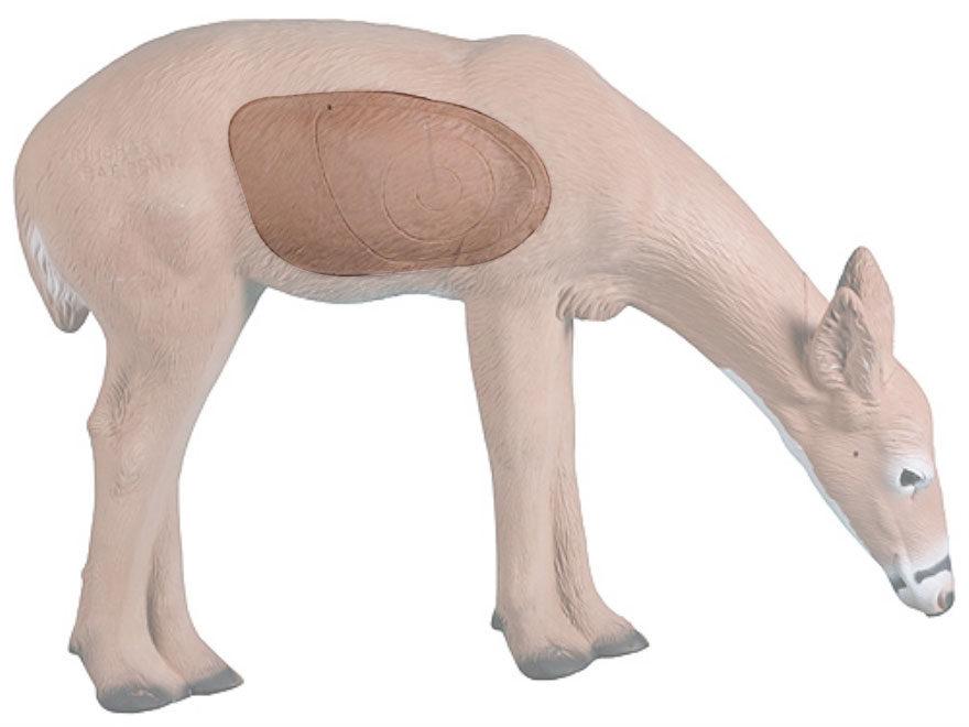 Rinehart Feeding Doe Deer 3D Foam Archery Target Replacement Insert