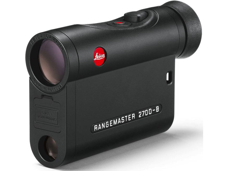 Leica Rangemaster CRF 2700-B Laser Rangefinder 7x Black