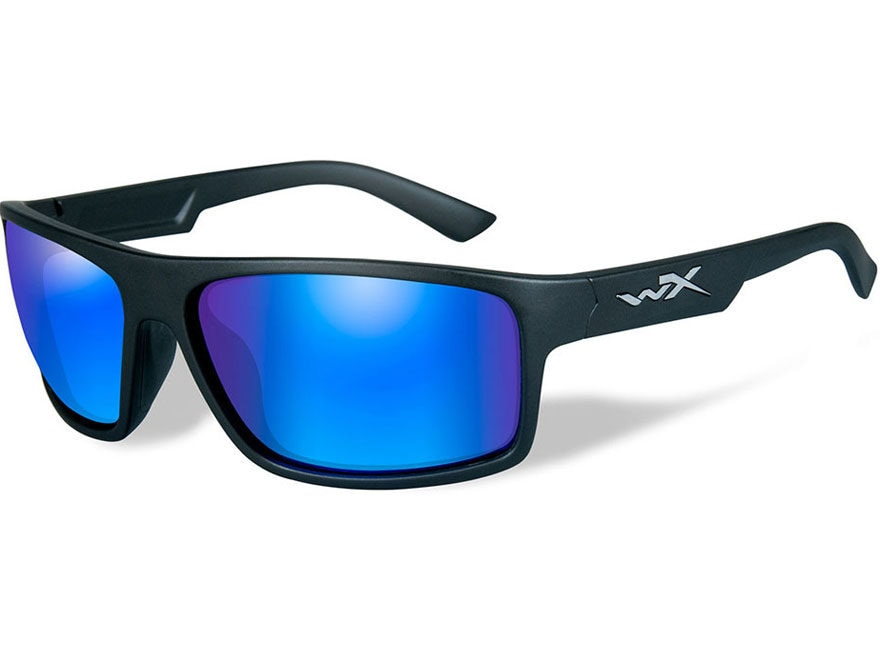 59dfedaba7 Wiley X WX Peak Sunglasses Matte Black Frame Polarized - MPN  ACPEA09
