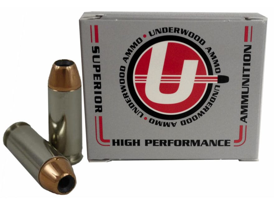 Underwood Ammunition 10mm Auto 135 Grain Jacketed Hollow Point Box of 20