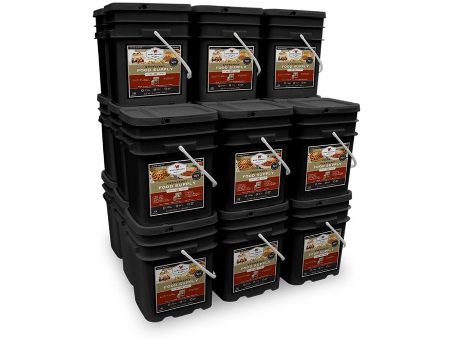 Wise Company 2880 Serving Vegetarian Entree and Breakfast Freeze Dried Food Kit