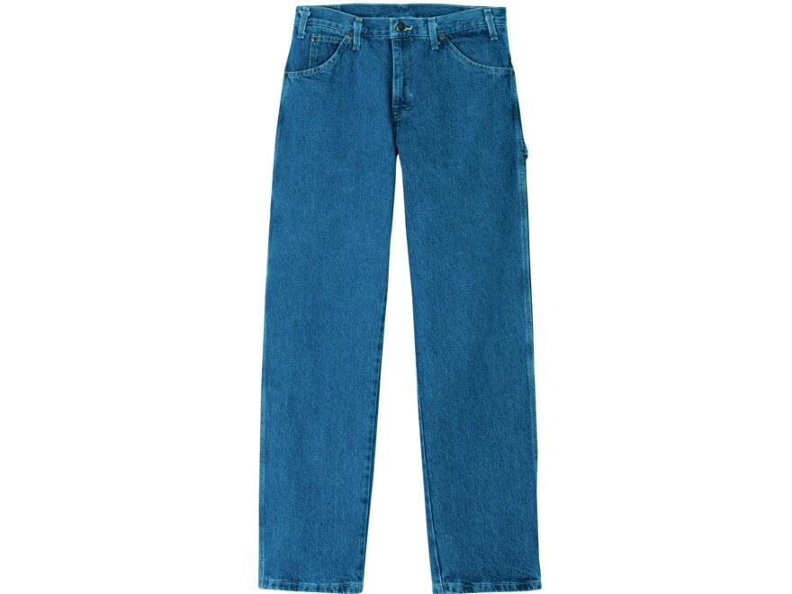 f3def6edf Dickies Men's Relaxed Fit Carpenter Denim Jeans Cotton Stonewashed Indigo  Blue 30