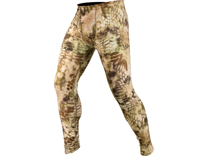 Kryptek Men's Hoplite II Lightweight Base Layer Pants Merino Wool Highlander Camo