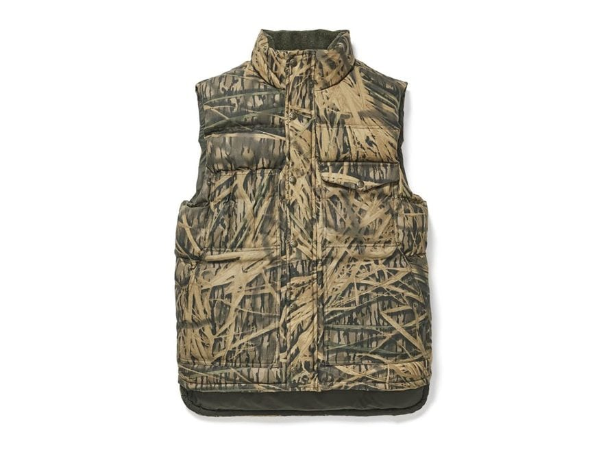 Filson Men's Camo Down Cruiser Insulated Vest Cotton
