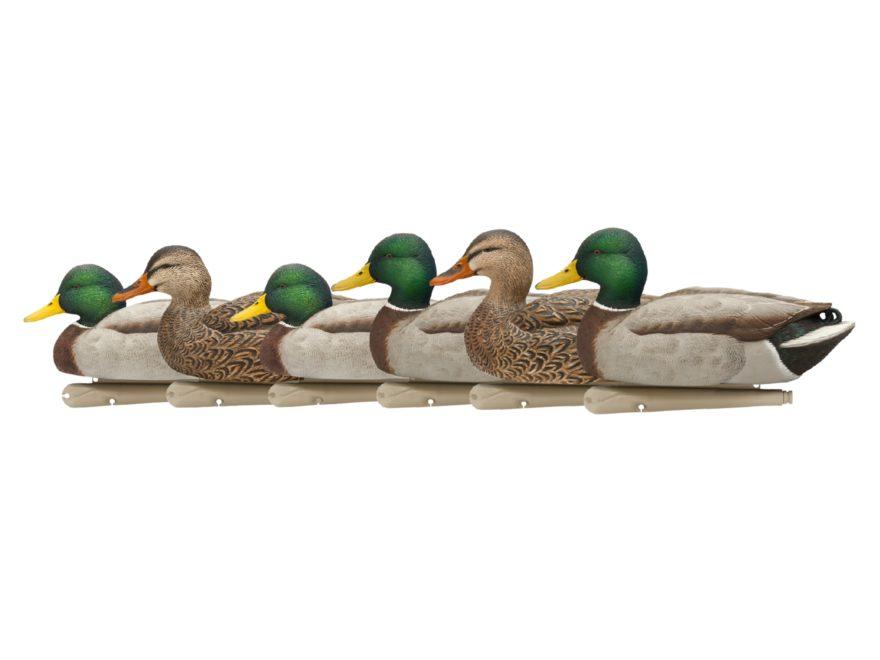 Avian-X Open Water Mallards Weighted Keel Duck Decoy Pack of 6