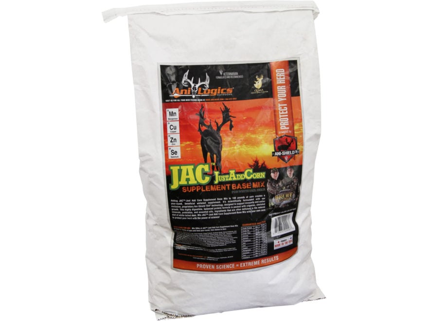 Anilogics JustAddCorn Base Mix Deer Supplement in 50 lb Bags