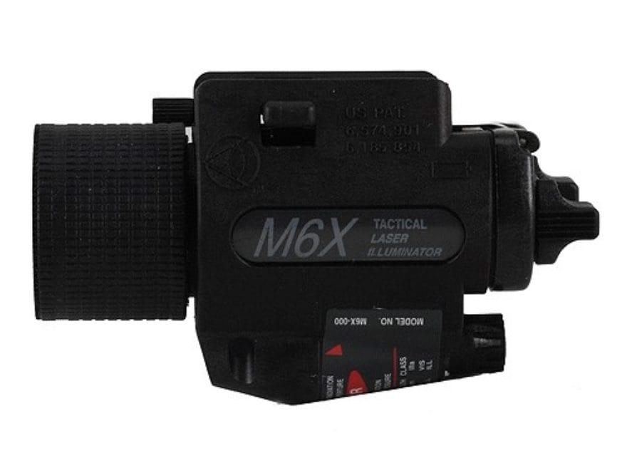 Insight Tech Gear M6X Tactical Illuminator Flashlight with Laser Halogen Bulb  fits Pic...