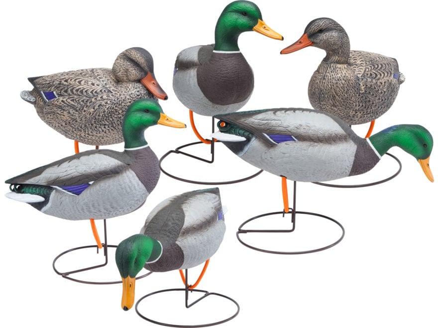 Final Approach Gunner HD Field Full Body Mallard Duck Decoy Pack of 6