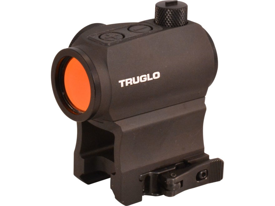 TRUGLO Tru Tec Red Dot Sight 1x 20MM 2 MOA Dot with Quick-Detachable Weaver/Picatinny-S...