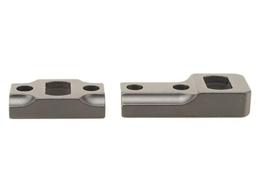 Leupold 2-Piece Dual-Dovetail Scope Base Weatherby Mark V, Vanguard, Howa 1500