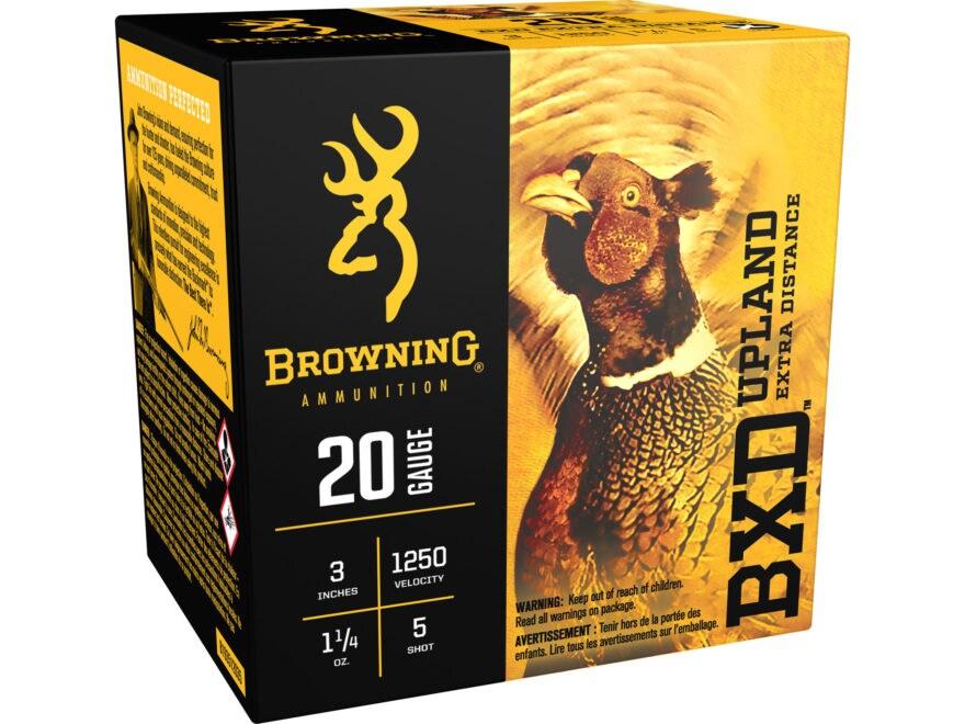 Browning BXD Upland Ammunition 20 Gauge