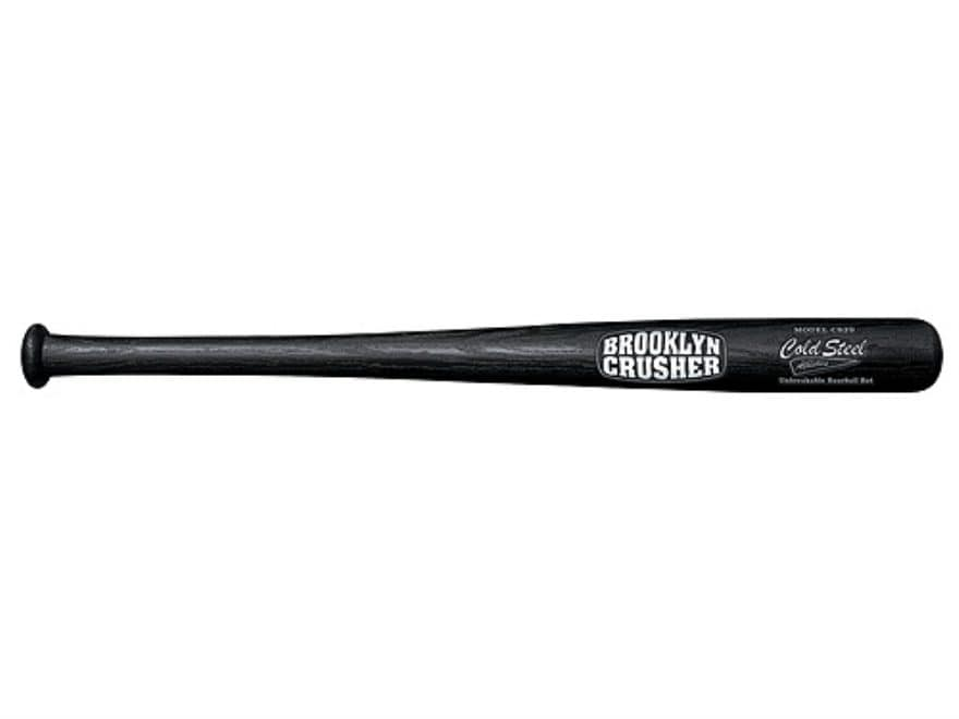 "Cold Steel Brooklyn Crusher Baseball Bat Impact Tool 29"" Polypropylene Black"