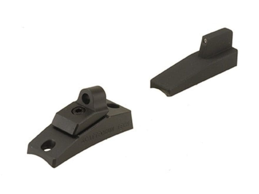 Scattergun Technologies Ghost Ring Sight Set with Tritium Front Sight Insert Remington ...