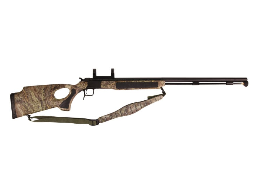 "CVA Accura V2/LR Muzzleloading Rifle with Dead-On Scope Mount 50 Caliber 30"" Fluted Nit..."