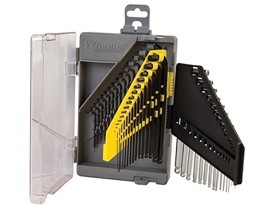 Wheeler Engineering 45-Piece Wrench Set SAE, Metric, Hex, Torx