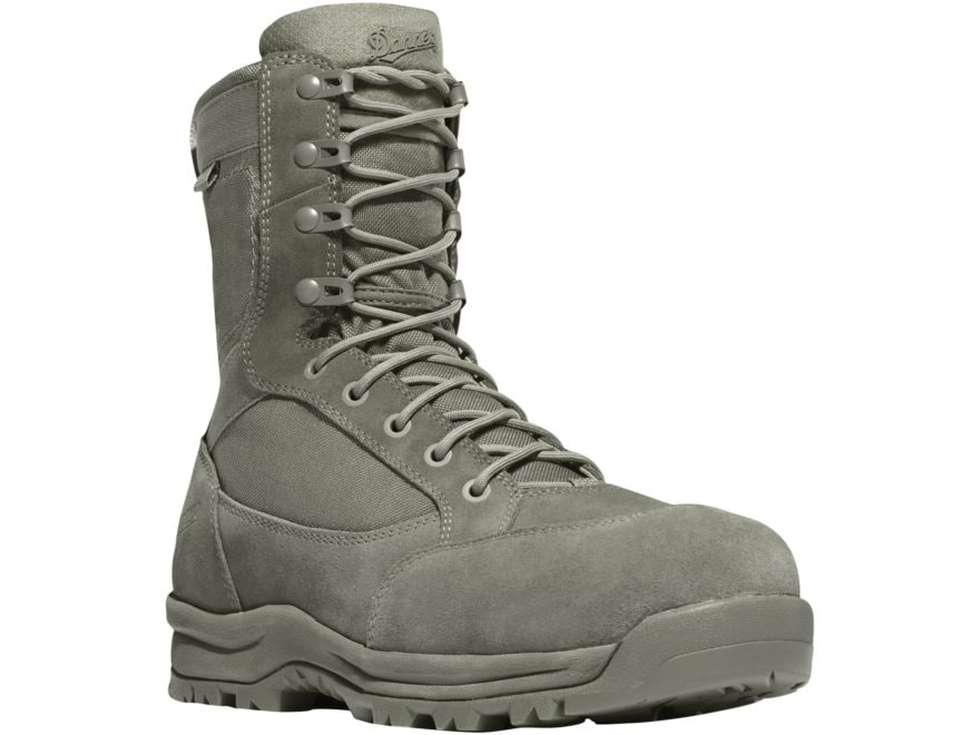 """Danner Tanicus 8"""" Waterproof Non-Metallic Safety Toe Tactical Boots Leather/Nylon Men's"""