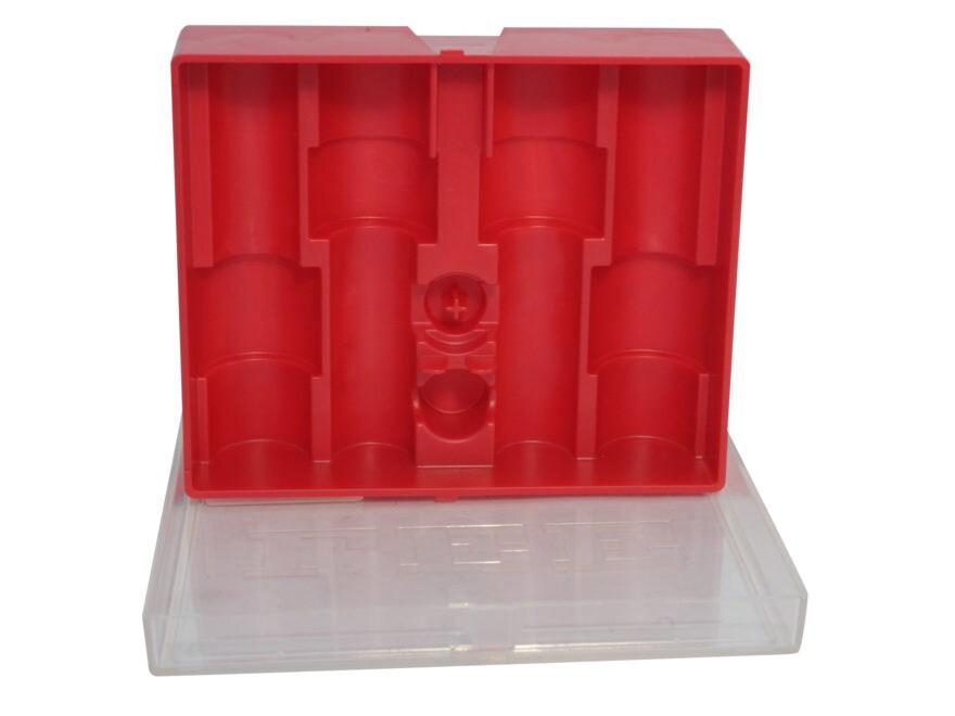 Lee 4-Die Storage Box Red