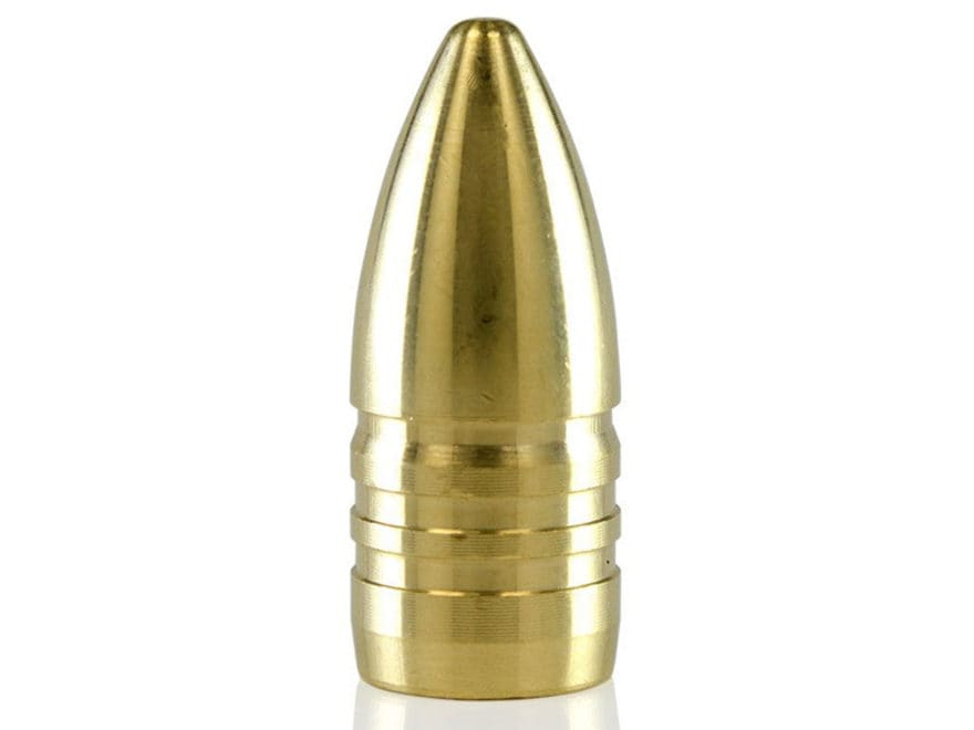 Lehigh Defense Match Solid Bullets 458 SOCOM (458 Diameter) 300 Grain Solid Brass Boat ...