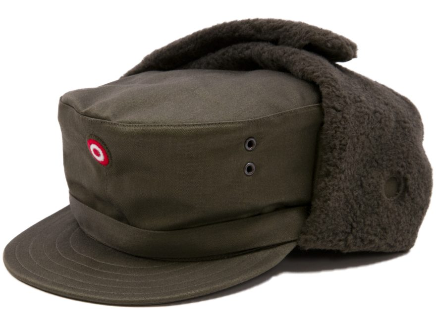 Military Surplus Austrian Winter Cap Olive Drab