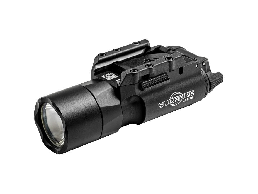 Surefire X300U-A Ultra Weaponlight with Rail-Lock Mounting Rail LED with 2 CR123A Batte...