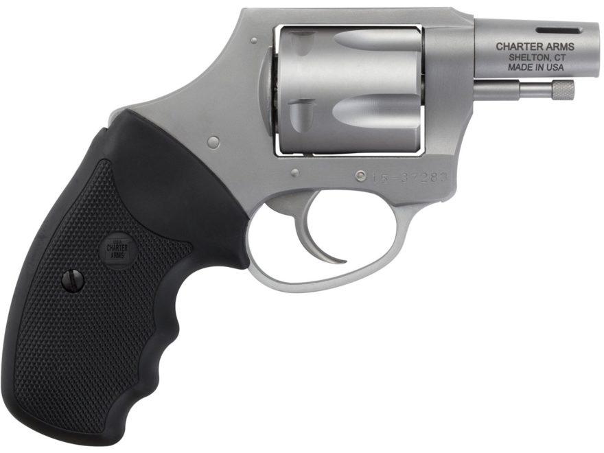 "Charter Arms Boomer Revolver 44 Special 2"" Barrel 5-Round Black Rubber"
