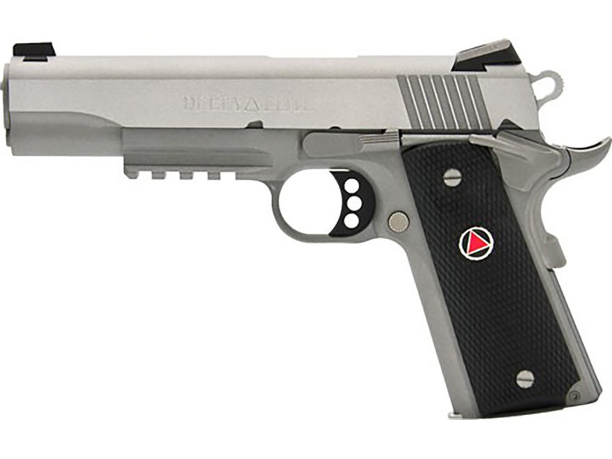 Colt Delta Elite Pistol 10mm Auto 5 Barrel Rail 8 Round Stainless