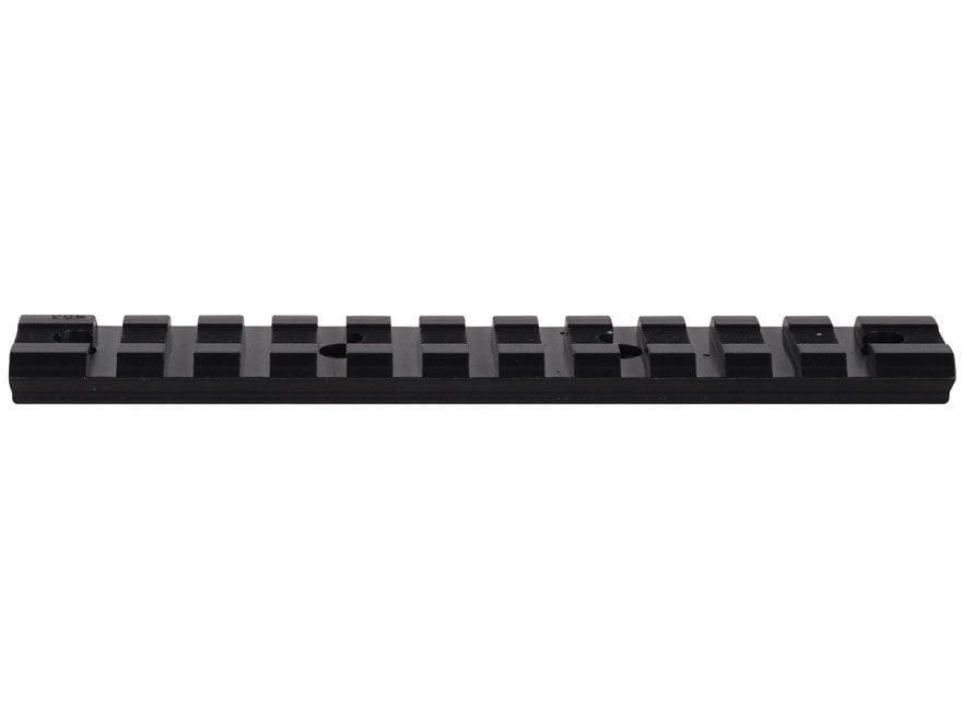 Weaver 1-Piece Multi-Slot Weaver-Style Scope Base Remington 870, 11-87 Matte