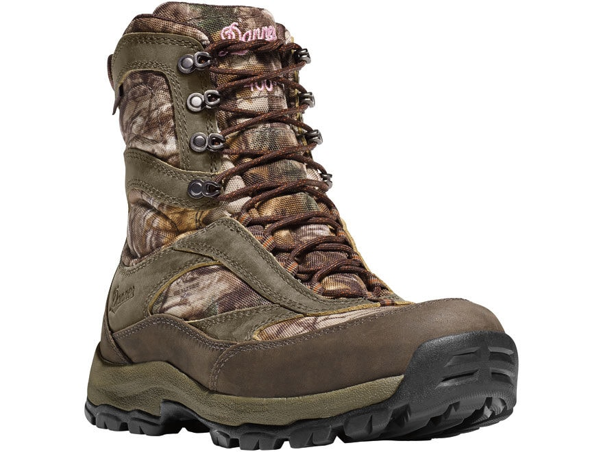 "Danner High Ground 8"" GORE-TEX Insulated Hunting Boots Leather/Nylon Women's"