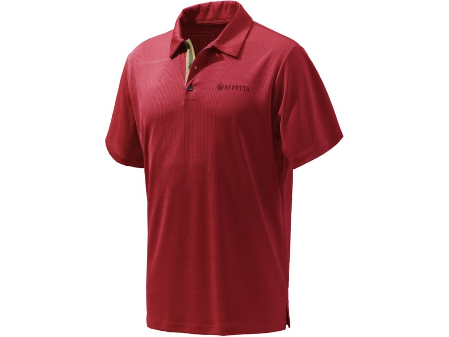 Beretta Men's Tech Polo Short Sleeve Polyester