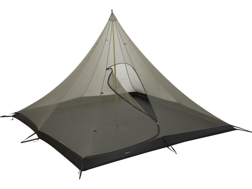 Black Diamond Equipment Mega Bug 4 Person Tent Nylon Gray/Black