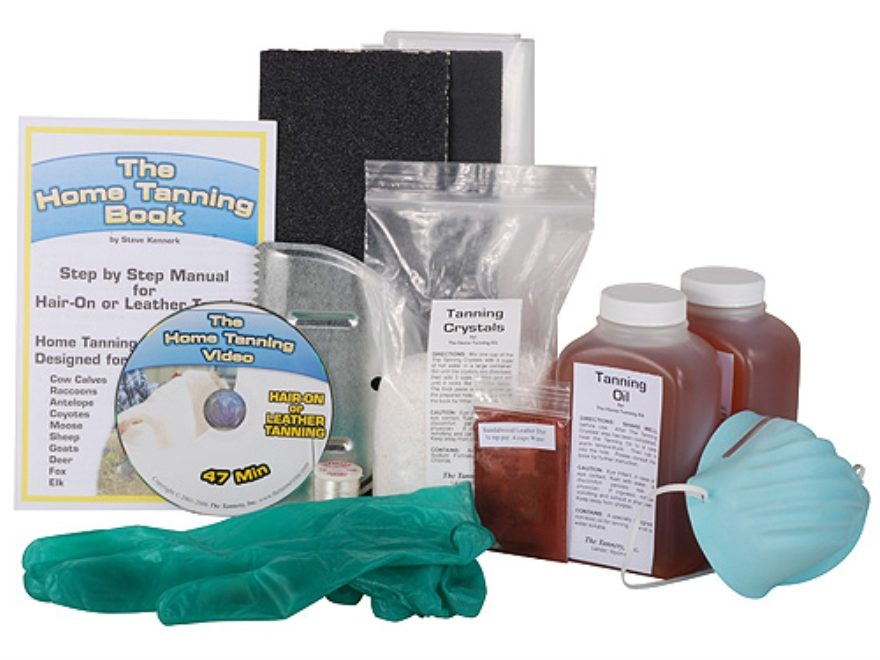 The Tannery Complete Home Hide Tanning Kit