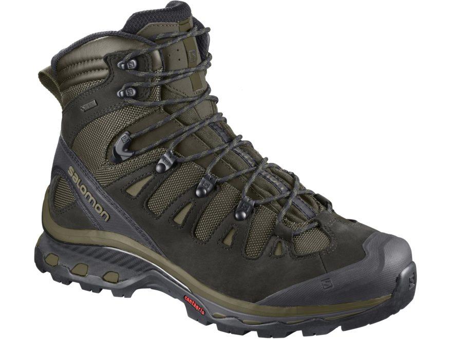 "Salomon Quest 4D 3 GTX 6"" GORE-TEX Hiking Boots Leather/Synthetic Men's"