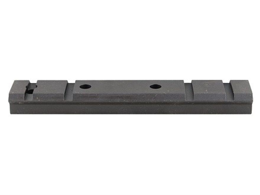 Warne Maxima 1-Piece Steel Weaver-Style Scope Base H&R Ultra, NEF Handi Rifle Matte