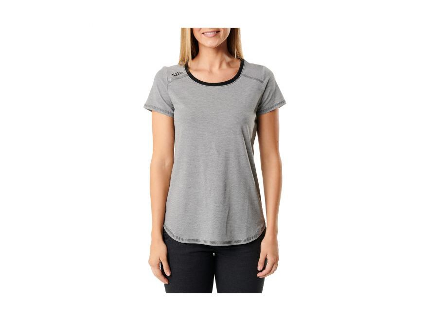 5.11 Women's Freya Shirt Short Sleeve Pima Cotton/Poly/Spandex