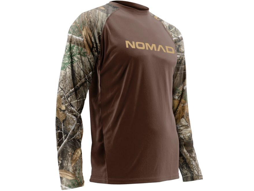 Nomad Men's Raglan T-Shirt Long Sleeve
